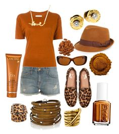 """""""Almendras!"""" by grisucloset on Polyvore featuring Louis Vuitton, Vince Camuto, Étoile Isabel Marant, Current/Elliott, Prada, Sif Jakobs Jewellery, Minnie Grace, Gucci, FOUR BUTTONS and Essie"""