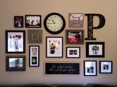 mix-it-up wall collage