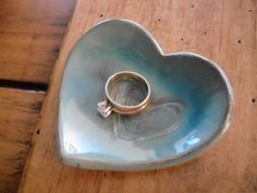 party favor ring dish wedding ring holders by PromisePottery