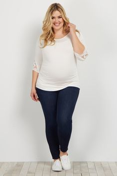 Shop cute and trendy maternity clothes at PinkBlush Maternity. We carry a wide selection of maternity maxi dresses, cute maternity tanks, and stylish maternity skinny jeans all at affordable prices. Casual Maternity Outfits, Plus Size Maternity Dresses, Maternity Skinny Jeans, Stylish Maternity, Jeans Skinny, Maternity Tops, Maternity Fashion, Maternity Style, Pregnancy Fashion