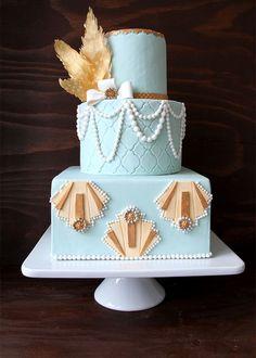 20 Deliciously Deco Wedding Cakes