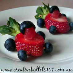 Children's birthday parties don't need to be about sugary treats wth no nutritional value. Fruit can be just as fun and tasty. Birthday Treats, Birthday Parties, Car Birthday, Fruit Snacks, Fun Fruit, Fruit Ideas, Kid Snacks, Healthy Kids, Healthy Snacks