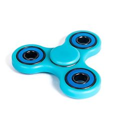 LPVLUX Spinner Fidget Toys Helps Focusing AntiAnxiety 360 original EDC toys for Kids Adults Relieves your ADHD anxiety material expensive PoM and boredom Ceramic Cube Bearing Light Blue >>> Details can be found by clicking on the image.