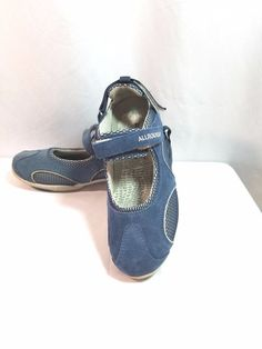 Allrounder by Mephisto Niro Active Mary Jane Sport Shoe Size 7 Blue #allrounder #other