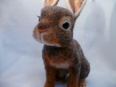 Rabbit Bunny Hare Needlefelted