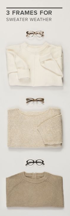Sweater weather is around the corner, so cozy up with new frames to match your changing wardrobe. Is your sweater drawer bursting at the seams but your glasses collection lacking? At EyeBuyDirect.com, you can pick up a new pair of frames for less than a turtleneck with styles starting at just $6. This fall, embrace neutrals and naturals with gorgeous frames like our Hepburn ($39), Concorde ($35), Shibuya ($42) frames.