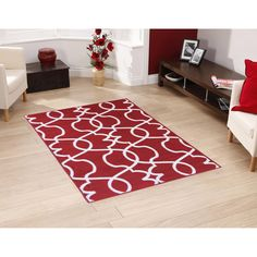 These high-quality machine made area rugs are durable pile and have non-slip rubber backing with a contemporary Morrocan trellis design for a nice added look. You will have your pick of rugs and have multiple options when decorating your home.