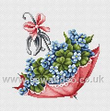 Shop online for Umbrella with Horse Shoes Cross Stitch Kit at sewandso.co.uk. Browse our great range of cross stitch and needlecraft products, in stock, with great prices and fast delivery.