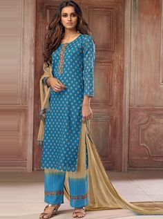 27 Types of Salwar Suits Designs for Serious Ethnic Fashionistas! Designer Punjabi Suits, Indian Designer Wear, Simple Prints, Salwar Suits, Indian Outfits, Lehenga, Ethnic, How To Wear, Fashion Tips