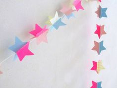 Star garland by Spiegel aan de wand on flickr