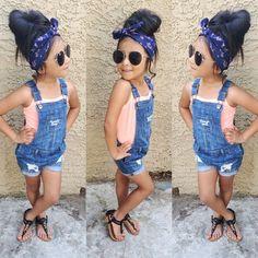 Fashion kids girl outfits little diva Ideas Little Girl Outfits, Cute Outfits For Kids, Little Girl Fashion, Toddler Fashion, Toddler Outfits, Kids Fashion, Fashion Clothes, Fashion Fashion, Hipster Fashion