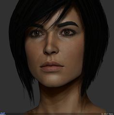 Портрет — Компьютерная графика и анимация — Render.ru