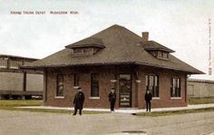 Grand Trunk Depot -  Western Ave. and Eighth St.