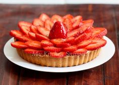 My Kitchen Snippets: Strawberry Tart