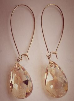 Love! Swarovski crystal earrings, jewlery
