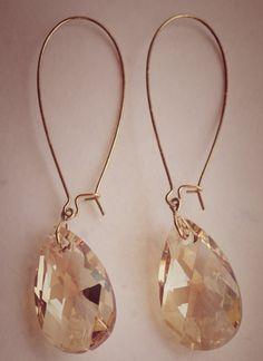 Love!  Swarovski crystal earrings, jewlery