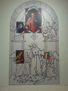 """Preview Stampa della mostra """"Raffaello. Opera Prima"""" - Ipotesi di ricostruzione della Pala raffigurante San Nicola da Tolentino (Pala Baronci)"""