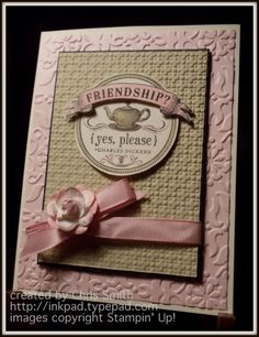 Stampin up {texture, please} by inkpad - Cards and Paper Crafts at Splitcoaststampers