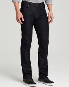 Paige Denim Jeans - Normandie Straight Fit in Backstage