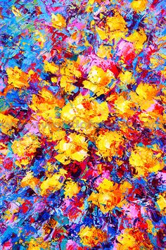 1000 images about painting inspiration on pinterest for Bright flower painting