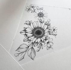 – old tatts – - diy tattoo images Jj Tattoos, Future Tattoos, Body Art Tattoos, Small Tattoos, Finger Tattoos, Cool Tattoos, Tatoos, Sunflower Tattoo Shoulder, Sunflower Tattoos