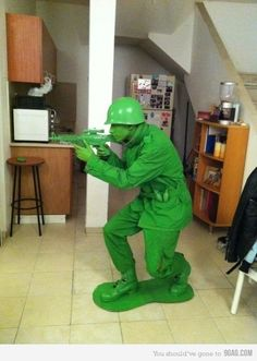 Halloween Costume Idea -toy soldier