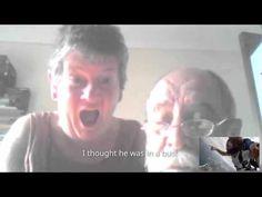 Ирландец скочи от самолет пред смаяните погледи на родителите си (ВИДЕО)