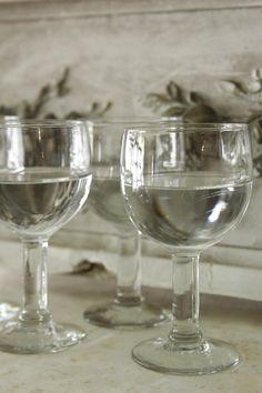 アンティークビストロワイングラス フランス