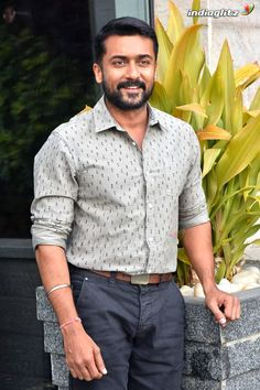 Actor Picture, Actor Photo, Famous Indian Actors, Surya Actor, Actors Images, Bikini Images, Cute Actors, Movie Collection, Formal Shirts