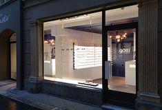 Götti Store by Thomas Frischknecht, Lucerne – Switzerland Switzerland Vacation, Lucerne Switzerland, Titanium Glasses, Sunglasses Sale, Retail Design, Store Design, Mirror, Interior Design, Outdoor Decor