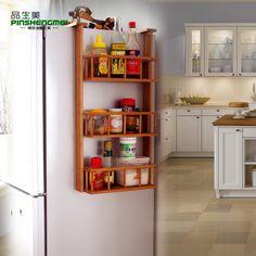 prateleira lateral armário cozinha - Pesquisa Google