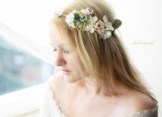 Hochzeitskranz+Blumenkranz+von+Julmond+auf+DaWanda.com