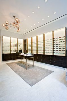 Robert Marc eyewear store by S. Russell Groves Architect, New Yor