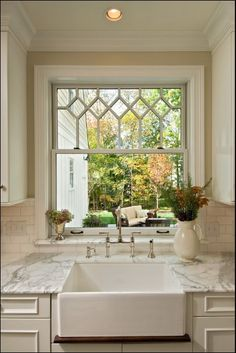 not so much a fan of the counters or anything but I LOVE the window!