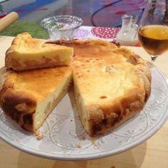 torta di formaggio e pere ricetta alessandra spisni