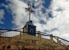 Cruzeiro no alto do Monte do Galo - Santuário de Nossa Senhora das Vitórias em Carnaúba dos Dantas/PB.