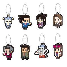 Gyakuten Saiban Dot Character Mascot Collection