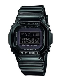 Casio-GW-M5610BB - 1 Men's G-Shock Watch Digital Quartz Black Resin Strap Black…