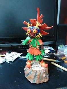 Skullkid by Magnusgramm Legend Of Zelda, Birthday Candles, Sculptures, Handmade, Art, Hand Made, Craft Art, Kunst, Sculpting