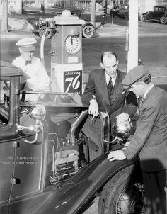 Union 76 Gas Pump 1920's-30's