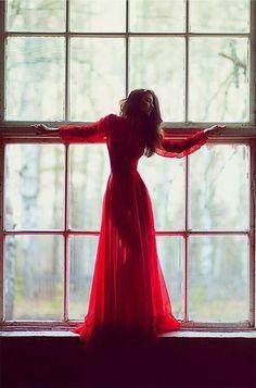 Love dress. Red *-*