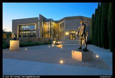 Picture/Photo: Rodin sculpture garden and Cantor Art Center, dusk. Cancer Journal, Sculpture Garden, Stanford University, Rodin, Colorful Pictures, Professional Photographer, Where To Go, Dusk, Picture Photo