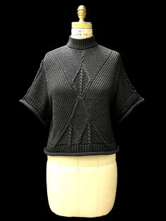 Designer: Jae Yoon Lee knitGrandeur®: FIT & Baruffa 2/30s Cashwool Collaboration: Term Garment Project, Part II