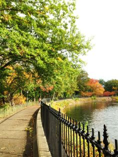 Jackie O. Reservoir Lake in Central Park, NYC