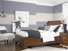 Dress up your walls to complement the rest of the bedroom.