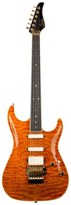 Suhr MK1 Custom Carve Top Mark Knopfler spec - Suhr Guitars w Guitar Spot