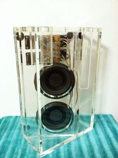 RARE Bose Clear Acrylic Dealer Only Display Demo Subwoofer Speaker Transparent © | eBay
