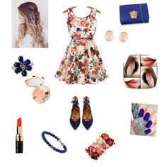 A fashion look from September 2015 featuring Aquazzura flats, Versace shoulder bags and David Yurman bracelets. Browse and shop related looks.