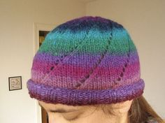filambulle: My Noro hat, a free-form recipe