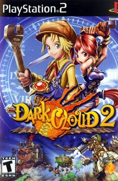 """Dark Cloud 2"" AKA ""Dāku Kuronikuru"" or ""Dark Chronicle"" > 2003 > Playstation 2 (PS2) > Role-Playing Game (RPG) / Third-Person 3D Action RPG"